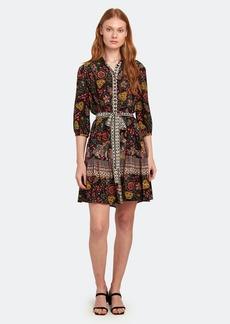 Saloni Tyra Silk Mini Dress - 0 - Also in: 2