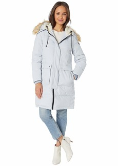 Sam Edelman 3/4 Parka with Patch Pockets