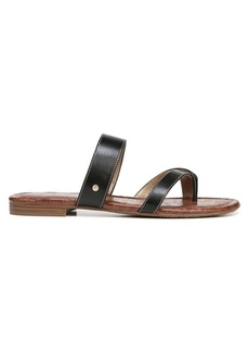 Sam Edelman Bernice Leather Strap Slides