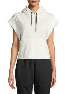 Sam Edelman Boxer Cap-Sleeve Sweatshirt