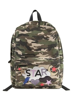 Sam Edelman Camo Avery Camouflage Canvas Backpack
