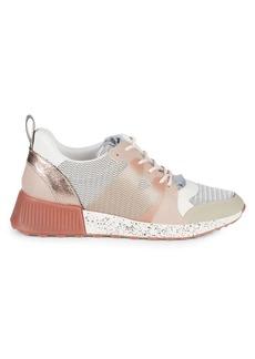 Sam Edelman Darsie Mixed-Media Wedge Sneakers