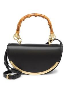 Sam Edelman Dinah Half Moon Top Handle Crossbody Bag