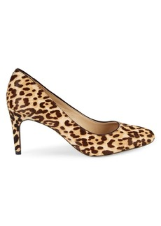 Sam Edelman Elise Jaguar-Print Calf Hair Pumps