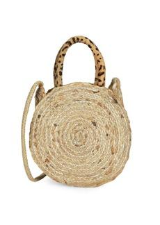 Sam Edelman Emilia Straw Round Straw Bag