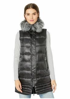 Sam Edelman Faux Fur Puffer Vest