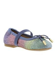 Sam Edelman Felicia Glitter Ballet Flat (Toddler)