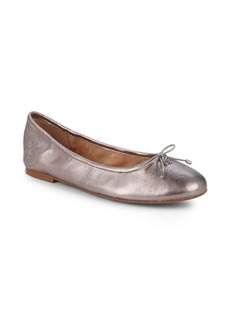 Sam Edelman Felicia Metallic Leather Ballet Flats