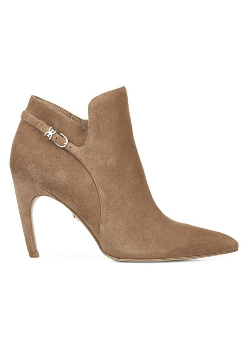 Sam Edelman Fiora Point-Toe Suede Ankle Boots