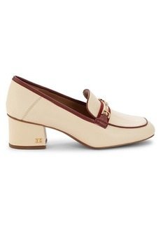 Sam Edelman Flo Leather Heeled Loafers