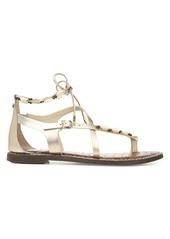 Sam Edelman Garten Leather & Shell Gladiator Sandals
