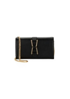 Sam Edelman Gemma Wos Leather Clutch