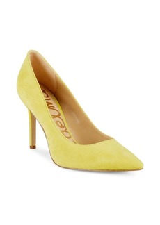 Sam Edelman Hazel Point-Toe Suede Pumps