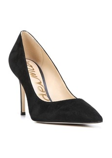 Sam Edelman Hazel Suede Point Toe Pumps