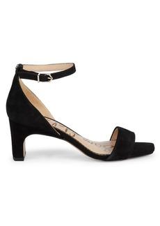 Sam Edelman Holmes Suede Ankle-Strap Sandals