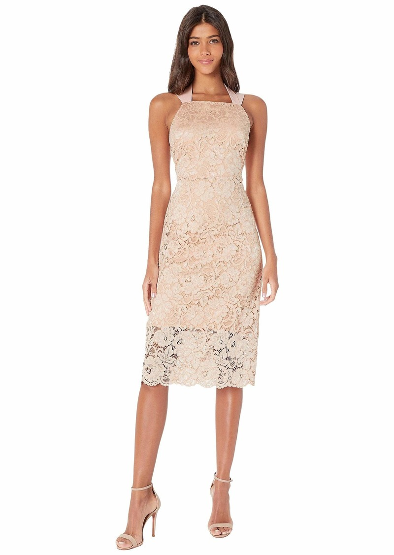 Sam Edelman Lace Thick Strap Midi Dress