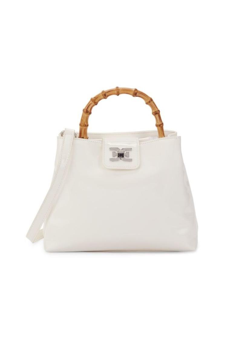 Sam Edelman Lois Bamboo Top-Handle Bag
