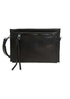 Sam Edelman Maisie Suede Passport Crossbody Bag