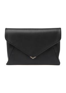 Sam Edelman Mila Suede & Leather 2-In-1 Clutch