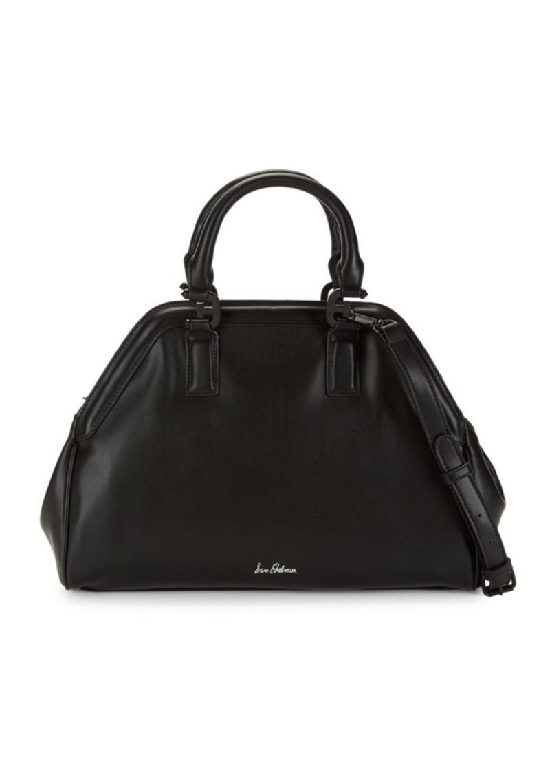 Sam Edelman Noely Faux Leather Bowling Bag