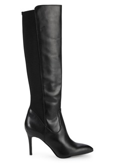 Sam Edelman Olene Point-Toe Knee-High Leather Boots