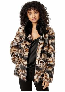 Sam Edelman Patched Leopard Faux Fur