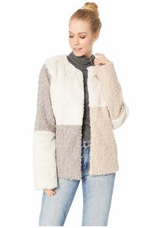 Sam Edelman Patchwork Faux Fur Jacket
