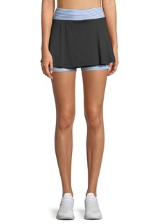 Sam Edelman Peek-A-Boo Performance Skort