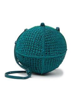 Sam Edelman Rochelle Ball Straw Crossbody Bag
