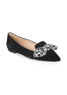 Sam Edelman Rochester Gingham Bow Loafers