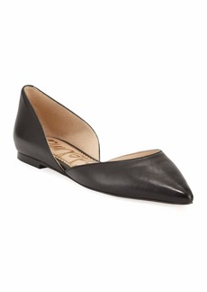 Sam Edelman Rodney Pointed-Toe Leather Flat
