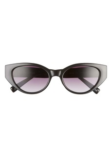 Sam Edelman 54mm Gradient Cat Eye Sunglasses