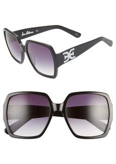 Sam Edelman 65mm Gradient Oversize Square Sunglasses
