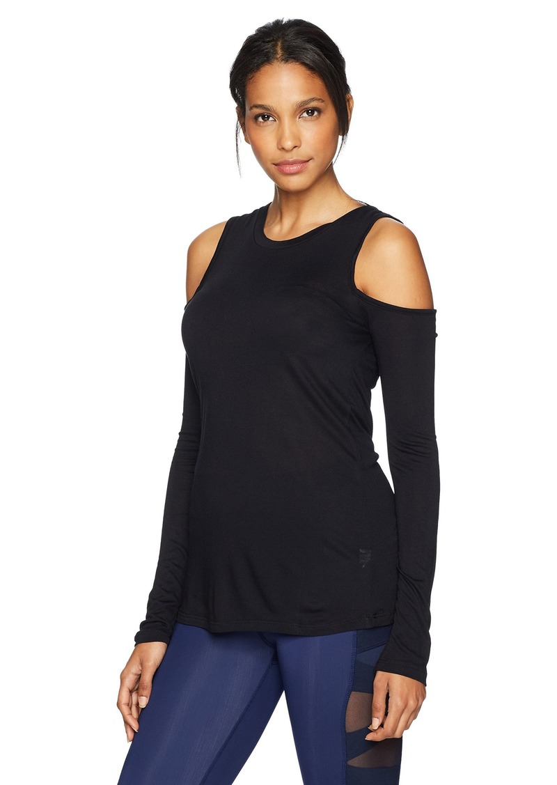 15d23094d0362 Sam Edelman Sam Edelman Active Women s Cold Shoulder Long Sleeve M ...