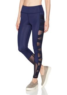 Sam Edelman Active Women's Criss Cross Mesh Legging  L