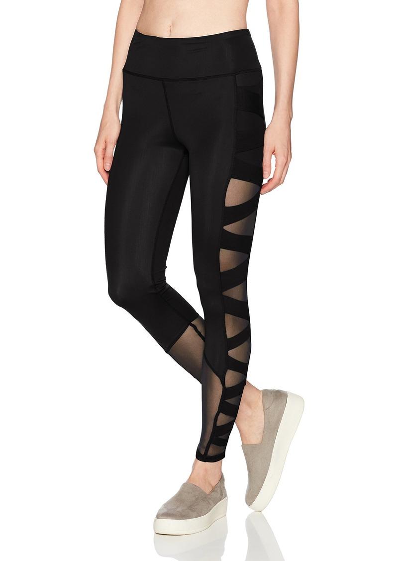 Sam Edelman Active Women's Criss Cross Mesh Legging  S