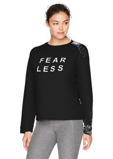 Sam Edelman Active Women's Paint Splash Sweatshirt  XL