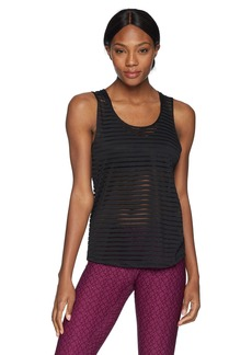 Sam Edelman Active Women's Sheer Stripe Tank