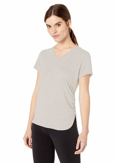 Sam Edelman Active Women's Short Sleeve Rouched T Shirt