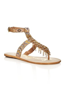 Sam Edelman Alara Beaded Ankle Strap Sandals