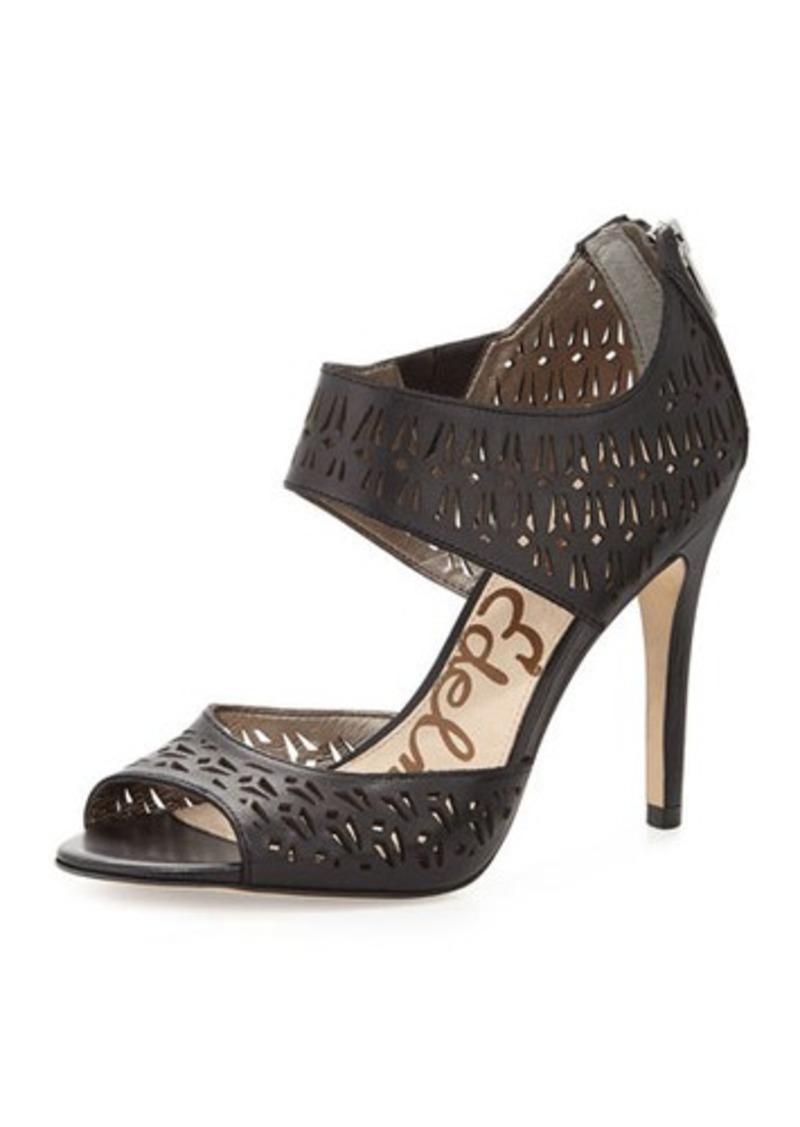 Sam Edelman Sam Edelman Alva Leather High Heel Ankle Wrap