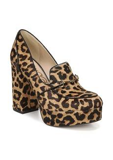 Sam Edelman Aretha Genuine Calf Hair Platform Loafer Pump (Women)