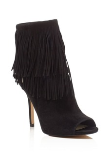 Sam Edelman Arizona Fringe Peep Toe Booties