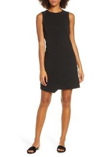 Sam Edelman Asymmetrical Hem Sheath Dress