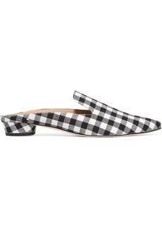 Sam Edelman Augustine gingham canvas slippers