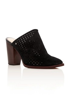 Sam Edelman Bates Perforated High Heel Mules