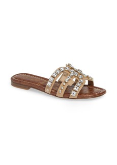 Sam Edelman Bay 2 Embellished Slide Sandal (Women)