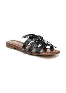 Sam Edelman Bay Strappy Scarf Knot Slide Sandal (Women)