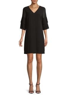 Sam Edelman Bell-Sleeve Shift Dress