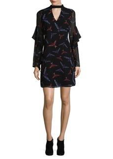 Sam Edelman Bird Choker Dress